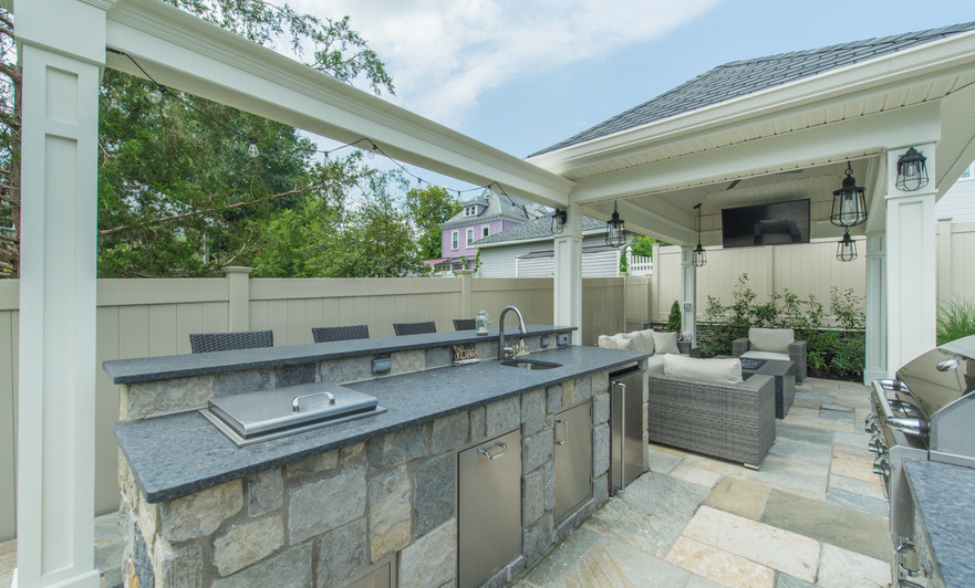 Classic Outdoor Kitchen by Outdoor Living of NJ