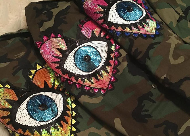 Army Jackets with Patches