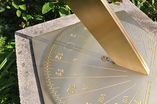 Spot on Sundial (Square Base)