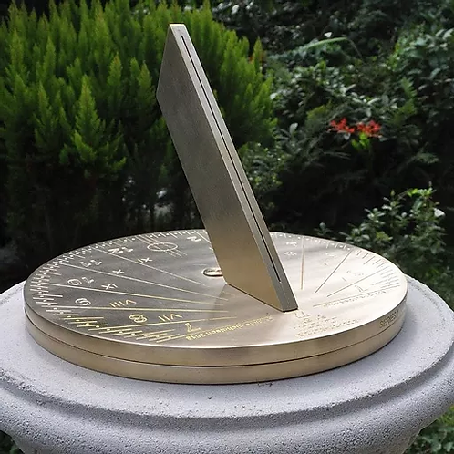 25cm Round Spot-on Sundial (London Model)