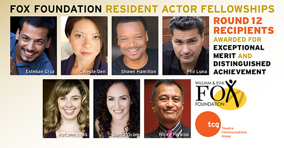 TCG Fox Foundation Resident Actor Fellows Round 12