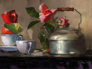 A cup of tea by Vrinda Dugar
