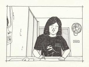 #TAPTOBER2020 Day 28: Self portrait