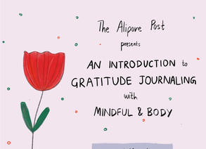 Workshop Alert: An Introduction to Gratitude Journaling by Mindful and Body