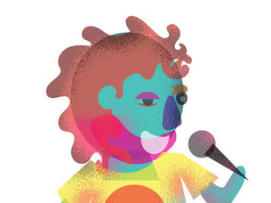 Vector comedians by Siddhi Surte