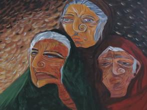 The Bard in Acrylic by Shweta Rao Garg
