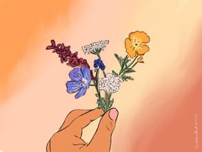 #TAPTOBER2020 Day 5: Wildflower