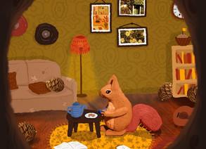 #TAPTOBER2020 Day 26: Squirrel