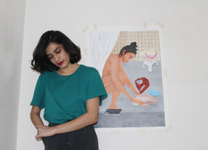 Artist of the Month: Tanya Maheshwari