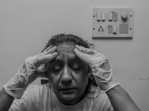 Portraits of my mother by Anuj Arora