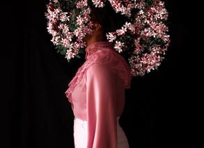 Fares Micue's Floral Self Portraits