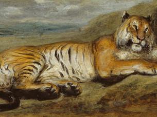 Nelumbo nucifera, the colour of Panthera tigris by Simone Dinshaw
