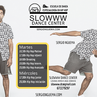 Cartel slowwww Dance Center 2020 - 2021