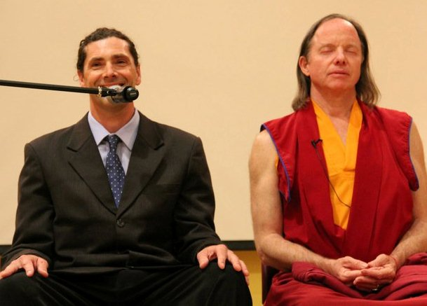 Teaching with Geshe-Hla