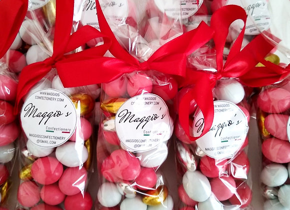 ASSORTED DRAGEE RED
