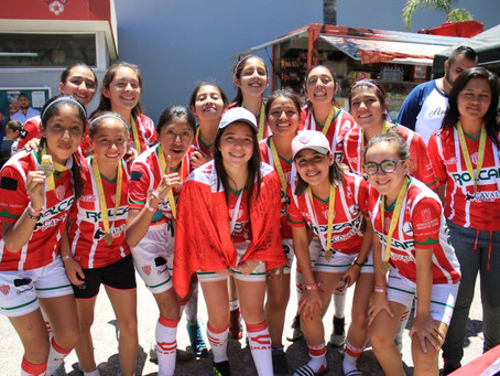 FINALIZÓ EL TORNEO INTER FILIALES DE CLUB NECAXA EN AGUASCALIENTES