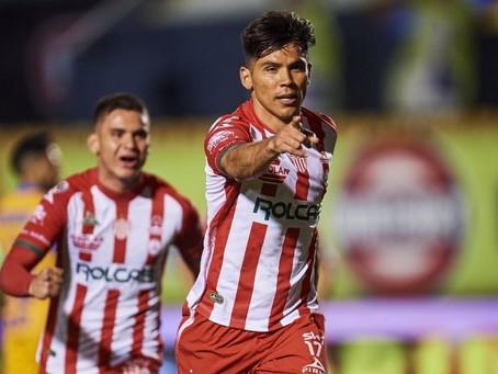 NECAXA SE TRAE VALIOSO PUNTO DEL VOLCAN: 1-1.