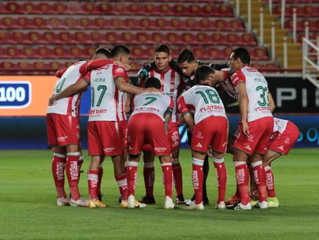 UN INOFENSIVO NECAXA PERMITIO A CRUZ AZUL GANAR 2-0.