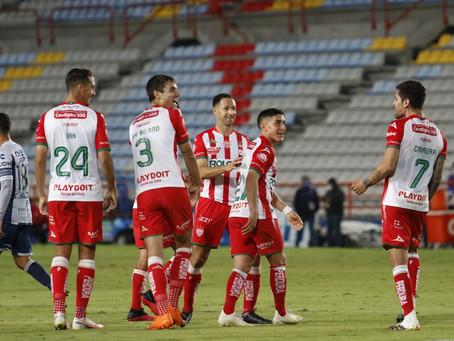 NECAXA CIERRA BRILLANTEMENTE EL TORNEO DERROTANDO 1-0 A PACHUCA EN LA BELLA AIROSA.