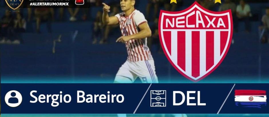 SERGIO BAREIRO, DELANTERO PARAGUAYO PODRIA LLEGAR AL NECAXA EN EL 2021.