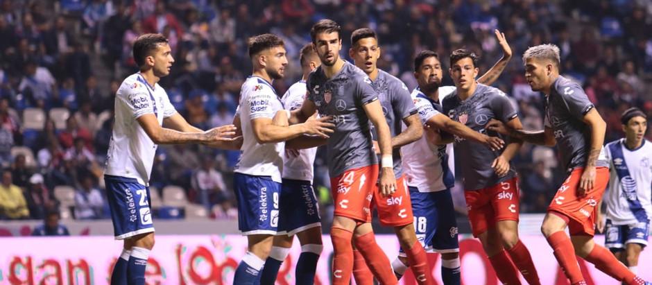 MAL CIERRE DE TORNEO DE LOS RAYOS DEL NECAXA. PIERDEN 3-0 ANTE PUEBLA.