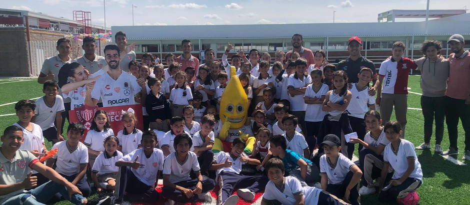 TOUR ESCOLAR NECAXA EN EL INSTITUTO TEPEYAC