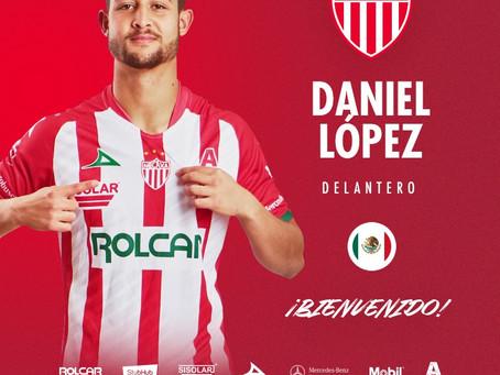 DANIEL LÓPEZ SE INCORPORARÁ A CLUB NECAXA DE CARA AL GUARD1ANES 2021.