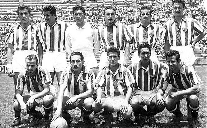 LA VUELTA DEL NECAXA EN 1950