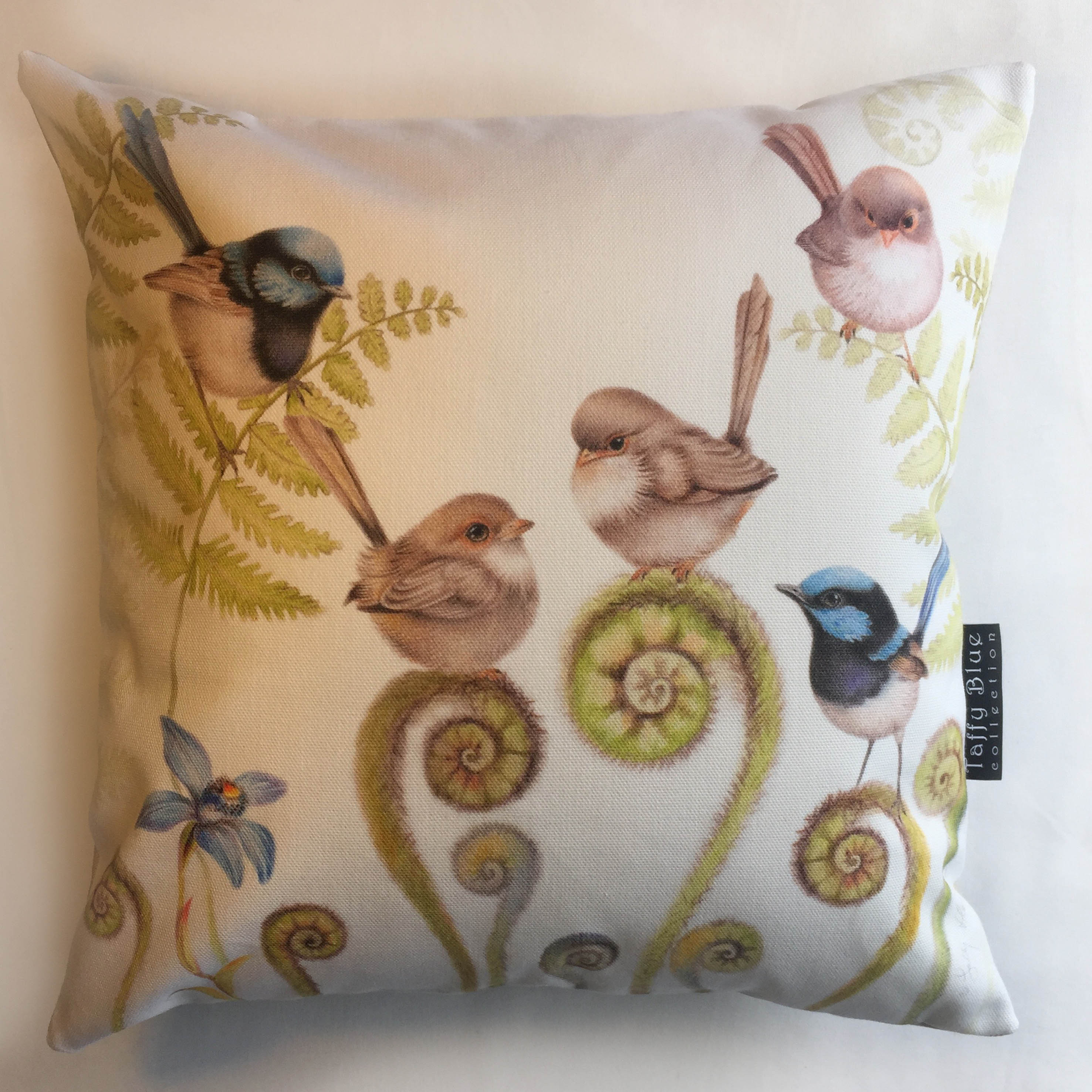 Wrens Party Cushion