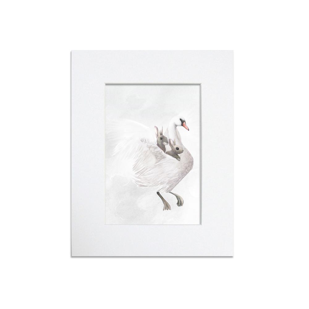 Swan Mounted