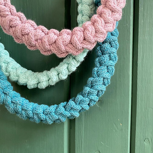 Crochet Braided Necklace