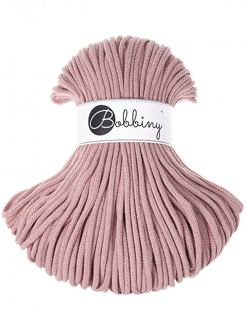 Blush Bobbiny cord 5mm