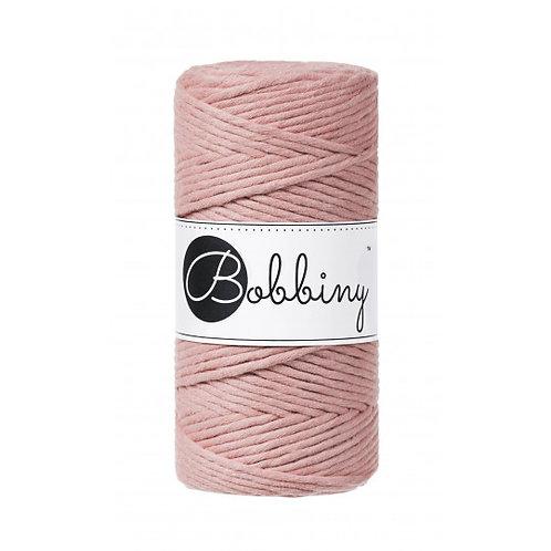 Blush Bobbiny single twist macrame cord 3mm