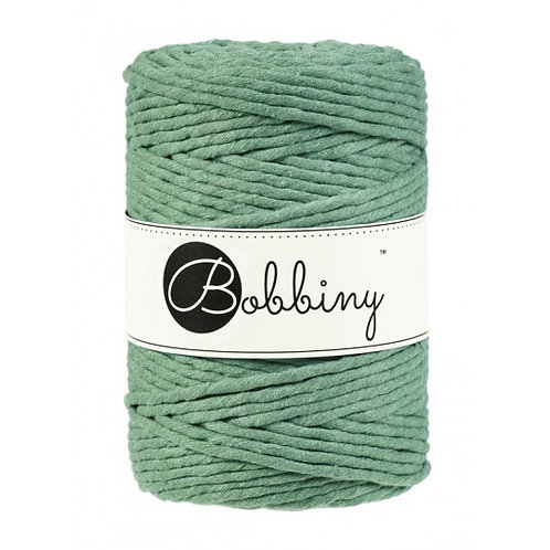 Eucalyptus Bobbiny single twist macrame cord 5mm