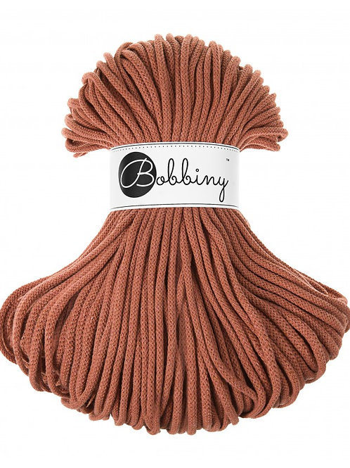 Terracotta Bobbiny cord 5mm