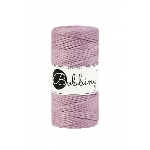 Dusty Pink Bobbiny single twist macrame cord 3mm