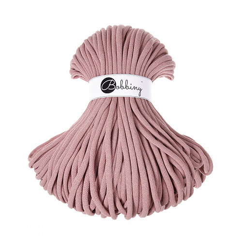 Blush Bobbiny cord 9mm