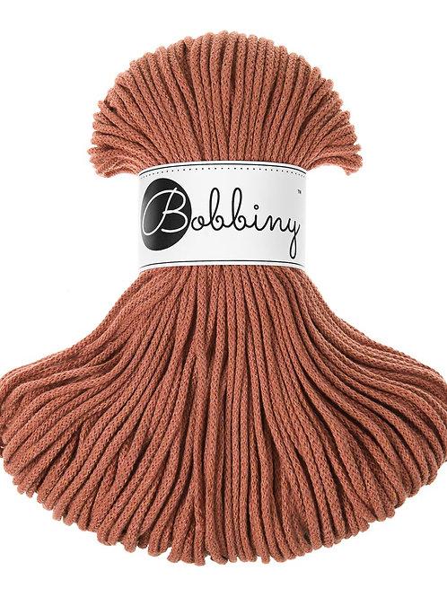 Terracotta Bobbiny cord 3mm