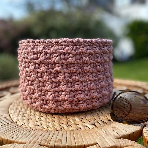 Crochet Basket Pattern - Sea Urchin