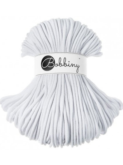 White Bobbiny cord 5mm