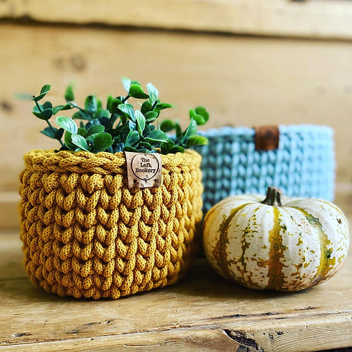 Crochet Small Basket Pattern