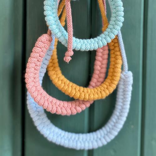 Crochet Woven Necklace