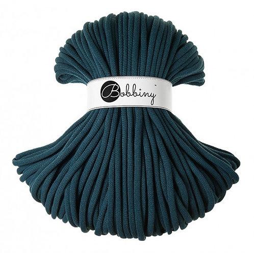 Peacock Bobbiny cord 9mm