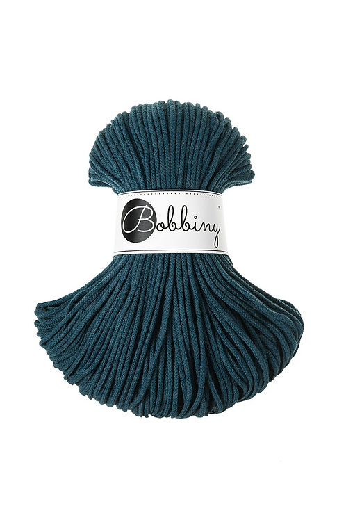 Peacock Bobbiny cord 3mm
