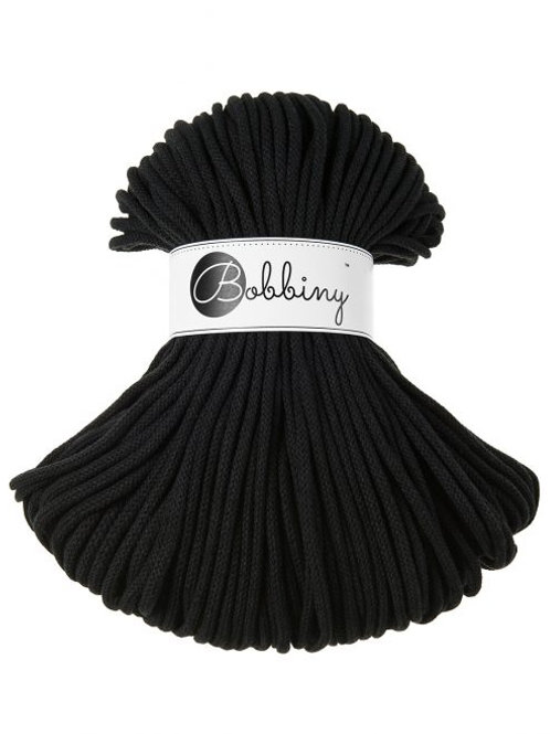 Black Bobbiny cord 5mm