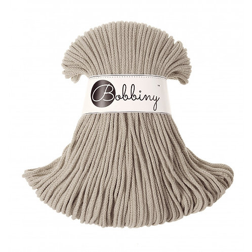 Beige Bobbiny cord 3mm