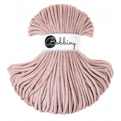 Strawberry Bobbiny cord 5mm