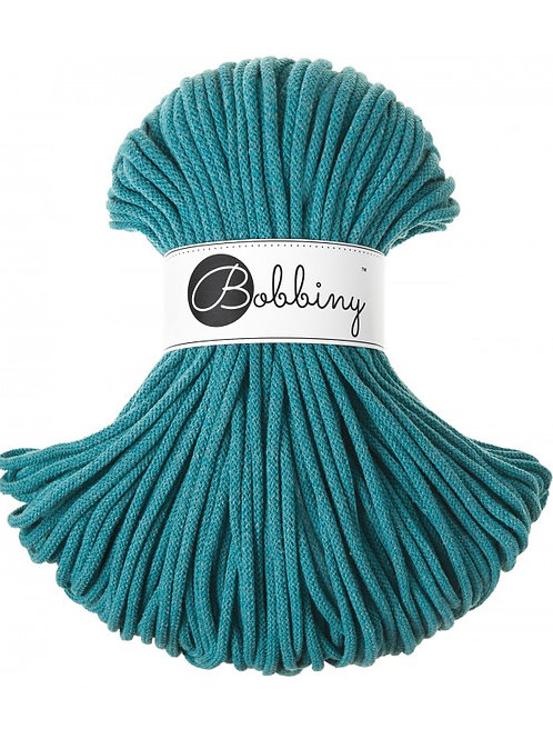 Teal Bobbiny cord 5mm