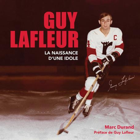 Le livre sur Guy Lafleur prend forme.