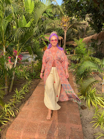 Kimono, lang